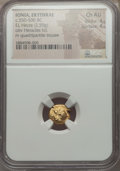 Ancients:Greek, Ancients: IONIA. Erythrae. Ca. 550-500 BC. EL sixth stater or hecte(2.59 gm). NGC Choice AU 4/5 - 4/5....