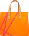 "Luxury Accessories:Bags, Louis Vuitton Limited Edition Orange Monogram Vernis Leather ReadePM Tote Bag by Robert Wilson. Excellent Condition. 10"" ..."