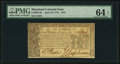 Colonial Notes:Maryland, Maryland April 10, 1774 $2/3 PMG Choice Uncirculated 64 EPQ.. ...