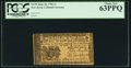 Colonial Notes:New Jersey, New Jersey June 22, 1756 1s PCGS Choice New 63PPQ.. ...