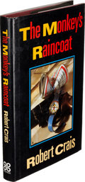 Books:Mystery & Detective Fiction, Robert Crais. The Monkey's Raincoat. [London: 1989]. FirstEnglish (and first hardcover) edition....