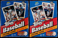 Baseball Cards:Unopened Packs/Display Boxes, 1993 Topps Baseball Unopened Box Pair (2) - Possible JeterRookie....