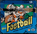 Football Cards:Boxes & Cases, 1984 Topps Football Unopened Cello Box - Possible Elway &Marino Rookies! ...