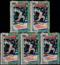 Baseball Cards:Unopened Packs/Display Boxes, 1994 Bowman Baseball Unopened Boxes Lot of 10....