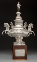 Silver Holloware, American:Other , An American Sterling Silver Horse Racing Trophy: TrentonHandicap 1953, 20th century. Marks: STERLING. 19-1/2in...