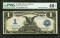 Error Notes:Large Size Errors, Fr. 235 $1 1899 Silver Certificate PMG Extremely Fine 40 EPQ.. ...