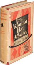 Books:Mystery & Detective Fiction, Ellery Queen. The Roman Hat Mystery. New York: Frederick A.Stokes, 1929. First edition.... (Total: 2 Items)