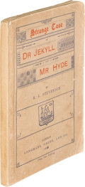 Books:Horror & Supernatural, Robert Louis Stevenson. Strange Case of Dr. Jekyll and Mr. Hyde. London: Longmans, Green, and Co., 1886. First E...