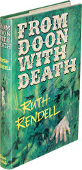 Books:Mystery & Detective Fiction, Ruth Rendell. From Doon with Death. London: John Long, 1964.First edition, signed by the author on the titl...