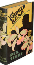 Books:Mystery & Detective Fiction, Rex Stout. The Rubber Band. New York: Farrar & Rinehart, [1936]. First edition. ...
