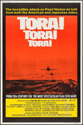 "Movie Posters:War, Tora! Tora! Tora! (20th Century Fox, 1970). Poster (40"" X 60"").War.. ..."