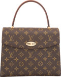 Luxury Accessories:Bags, Louis Vuitton Brown Taiga Leather & Classic Monogram Canva...