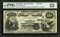 National Bank Notes:Pennsylvania, Slatington, PA - $10 1882 Date Back Fr. 545 The Citizens NB Ch. #(E)6051. ...