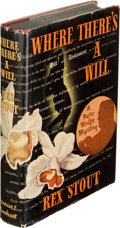 Books:Mystery & Detective Fiction, Rex Stout. Where There's a Will. New York: Farrar &Rinehart, [1940]. First edition. ...