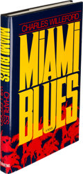 Books:Mystery & Detective Fiction, Charles Willeford. Miami Blues. New York: 1984. Firstedition, inscribed....
