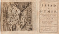 Books:Literature Pre-1900, [Alexander Pope]. The Iliad of Homer. Translated by Mr.Pope. London: Printed by W. Bowyer for Bernard Lintott, 1715...(Total: 6 Items)