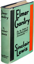 Books:Literature 1900-up, Sinclair Lewis. Elmer Gantry. New York: [1927]. Firstedition, presentation copy, with a signed note by Lewis on a b...