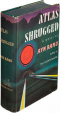 Books:Literature 1900-up, Ayn Rand. Atlas Shrugged. New York: [1957]. First edition.....