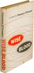 Books:Literature 1900-up, Flannery O'Connor. Wise Blood. New York: [1952]. Firstedition of the author's first book.. ...