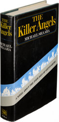 Books:Literature 1900-up, Michael Shaara. The Killer Angels. New York: [1974]. Firstedition.. ...