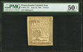 Colonial Notes:Pennsylvania, Pennsylvania June 18, 1764 3d PMG About Uncirculated 50 EPQ.. ...