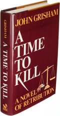 Books:Literature 1900-up, John Grisham. A Time to Kill. New York: [1989-1993]. Firstedition with signed-limited Doubleday edition.... (Total: 2 Items)