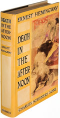 Books:Literature 1900-up, Ernest Hemingway. Death in the Afternoon. New York: 1932.First edition....