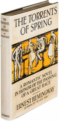 Books:Literature 1900-up, Ernest Hemingway. The Torrents of Spring. New York: 1926.First edition.. ...