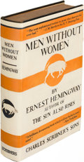 Books:Literature 1900-up, Ernest Hemingway. Men Without Women. New York: 1928. Firstedition.. ...