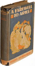 Books:Literature 1900-up, Ernest Hemingway. A Farewell to Arms. New York: 1929. First edition.. ...