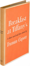 Books:Literature 1900-up, Truman Capote. Breakfast at Tiffany's. New York: [1958].First edition.. ...