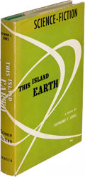 Books:Science Fiction & Fantasy, Raymond F. Jones. This Island Earth. Chicago: [1952]. First edition, subscriber's issue, signed.. ...