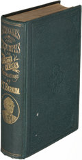 Books:Biography & Memoir, P. T. Barnum. Struggles and Triumphs... Buffalo: 1875.Author's Edition, inscribed.. ...