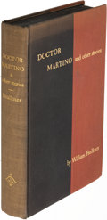 Books:Literature 1900-up, William Faulkner. Doctor Martino. New York: 1934. Firstedition, limited issue, signed.. ...