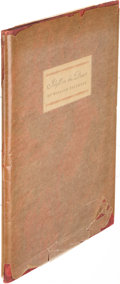 Books:Literature 1900-up, William Faulkner. Idyll in the Desert. New York: 1931. Firstedition....
