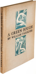 Books:Literature 1900-up, William Faulkner. A Green Bough. New York: 1933. Firstedition, signed.. ...