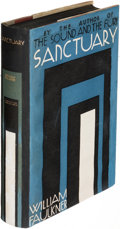 Books:Literature 1900-up, William Faulkner. Sanctuary. New York: [1931]. Firstedition. . ...