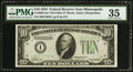 Fr. 2005-I* $10 1934 Mule Federal Reserve Note. PMG Choice Very Fine 35