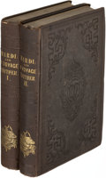 Books:Literature Pre-1900, Herman Melville. Mardi. And a Voyage Thither. NewYork: 1849. ...
