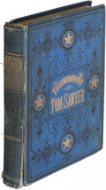 Books:Literature Pre-1900, Mark Twain. The Adventures of Tom Sawyer. Hartford: 1876.First U. S. edition, second printing.. ...