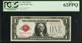Small Size:Legal Tender Notes, Low Serial Number 276 Fr. 1500 $1 1928 Legal Tender Note. PCGS New 62PPQ.. ...