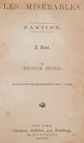 Books:Literature Pre-1900, Victor Hugo. Les Misérables. New York: 1862. First U. S.edition....