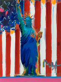 Fine Art - Work on Paper, Peter Max (American, b. 1937). United We Stand. Mixed mediaon paper. 24 x 18 inches (61.0 x 45.7 cm) (sheet). Signed lo...