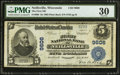 National Bank Notes:Wisconsin, Neillsville, WI - $5 1902 Plain Back Fr. 600 The First NB Ch. # 9606. ...
