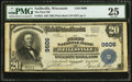 National Bank Notes:Wisconsin, Neillsville, WI - $20 1902 Plain Back Fr. 652 The First NB Ch. # 9606. ...