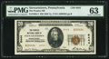 National Bank Notes:Pennsylvania, Stewartstown, PA - $20 1929 Ty. 2 The Peoples NB Ch. # 6444. ...