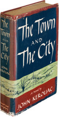 Books:Literature 1900-up, John Kerouac. The Town and the City. New York: Harcourt,Brace and Company, [1950]. First edition of the author's fi...