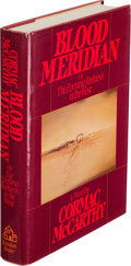 Books:Literature 1900-up, Cormac McCarthy. Blood Meridian. Or the Evening Rednessin the West. New York: Random House, [1985]. First editi...