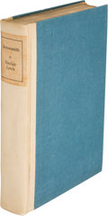 Books:Literature 1900-up, Sinclair Lewis. Arrowsmith. New York: Harcourt, Brace andCompany, [1925]. First edition, limited to 500 copies, of ...