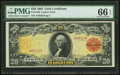 Large Size:Gold Certificates, Fr. 1180 $20 1905 Gold Certificate PMG Gem Uncirculated 66 EPQ.....